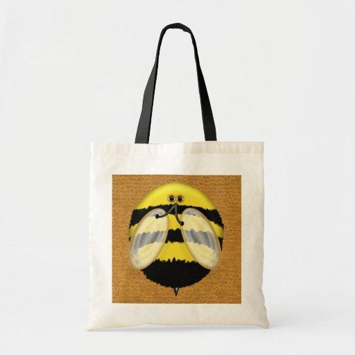 Big Bumble Bee Totes Bag