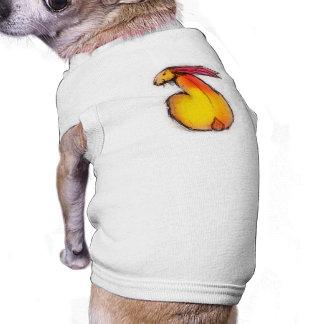 Big Bun Sleeveless Dog Shirt
