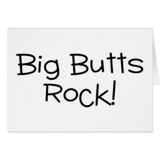 Big Butts Rock Greeting Card