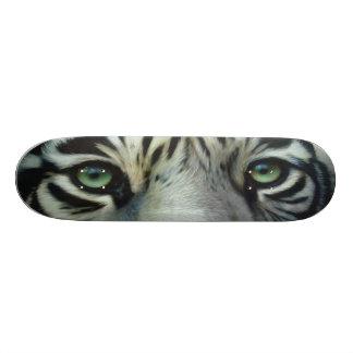 BIG CAT SKATEBOARD-2 Cool Cat-White Tiger! 21.6 Cm Old School Skateboard Deck