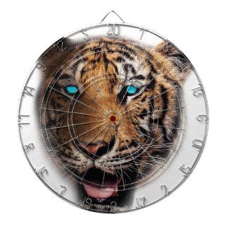 Big Cat Tiger Face Dartboard