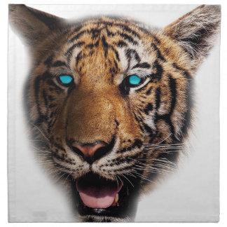 Big Cat Tiger Face Napkin