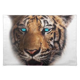 Big Cat Tiger Face Placemat