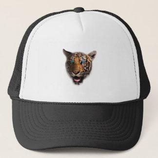 Big Cat Tiger Face Trucker Hat