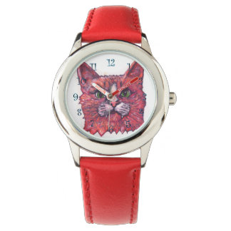Big Catface Wrist Watch