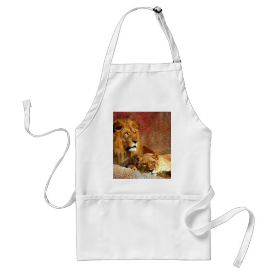 Big Cats - 6 Standard Apron
