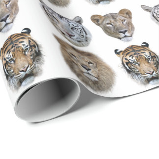Big Cats Wrapping Paper
