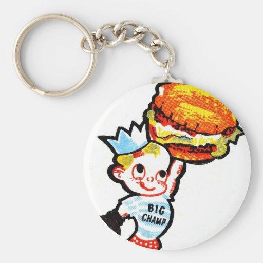 Big Champ Hamburgers Key Chains