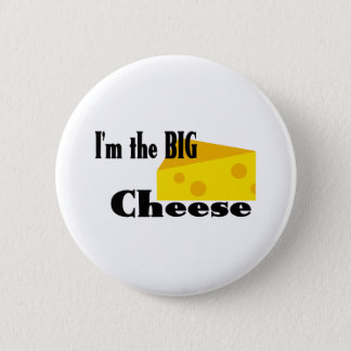 Big Cheese 6 Cm Round Badge