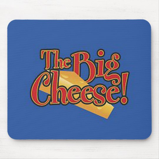 Big Cheese Decal Mouse Mat
