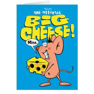 Big Cheese Greeting Card