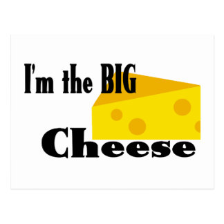 Big Cheese Postcard
