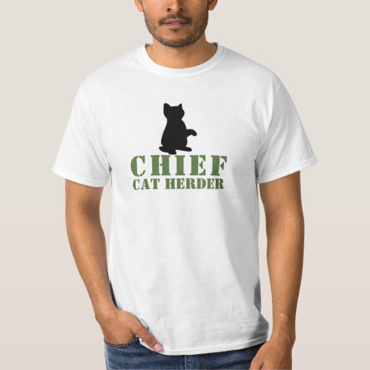 Big Chief Cat Herder T-Shirt