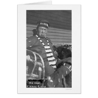 Big Chief Sunrise Alaska 1916 Cards