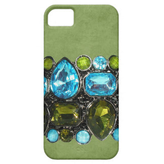 Big Chunky Faux Jeweled IPhone Barely There Case iPhone 5 Cases