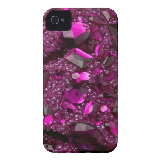 Big Chunky Faux Jewelled IPhone4 case mate