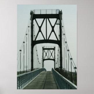 Big City Bridge Poster