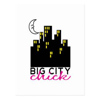 Big City Luck Postcard