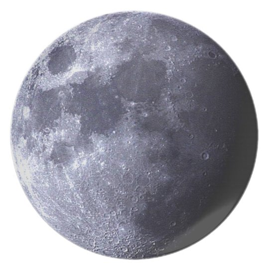 Big close up of The Moon - Earth's