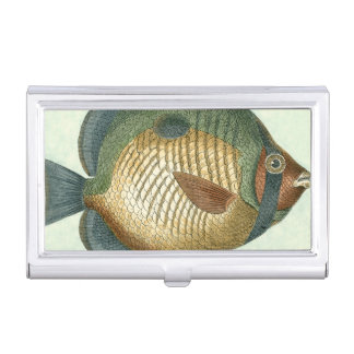 Big Colorful Fish Business Card Holder