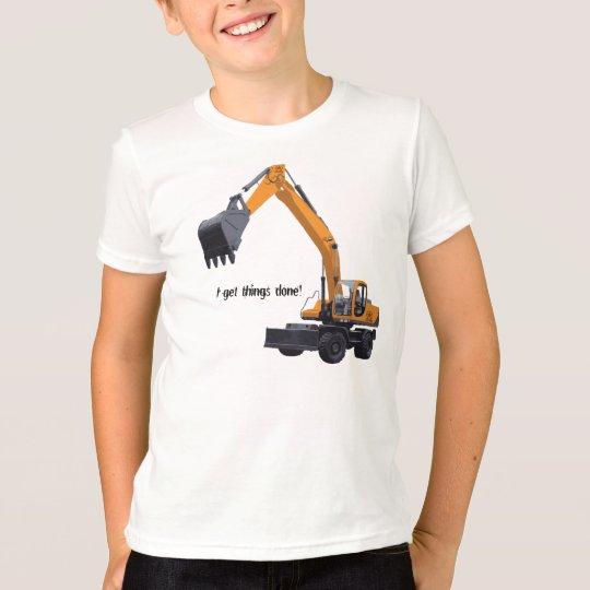 Big Construction Excavator T-Shirt
