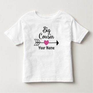 Big Cousin Arrow Personalized T-shirt