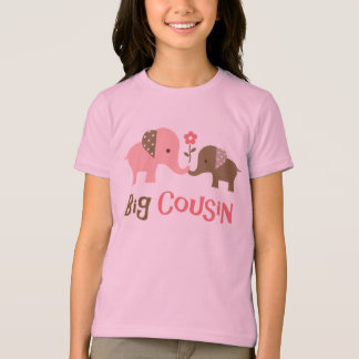 Big Cousin - Mod Elephant t-shirts for girls