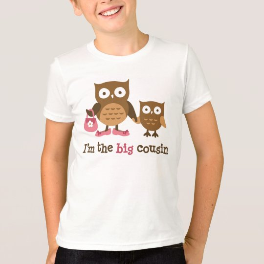 Big Cousin - Mod Owl t-shirts for girls