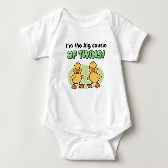 Big Cousin of twins gifts - Ducks Baby