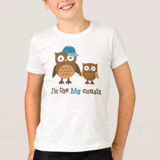 Big Cousin Owl t-shirts for boys