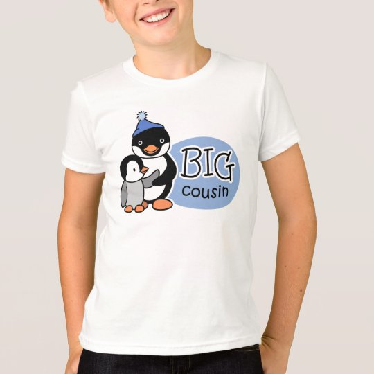 Big Cousin Penguin t-shirts
