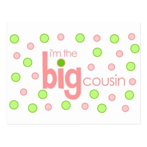 Big cousin polkadot T-shirt Postcard