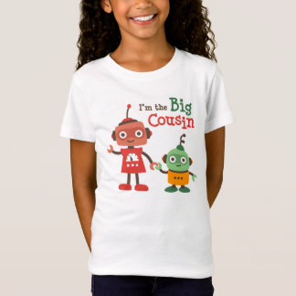 Big Cousin - Robot t-shirts for girls