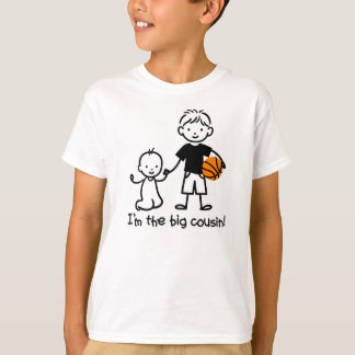 Big Cousin - Stick Characters t-shirts for boys