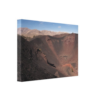 Big Craters Gallery Wrap Canvas