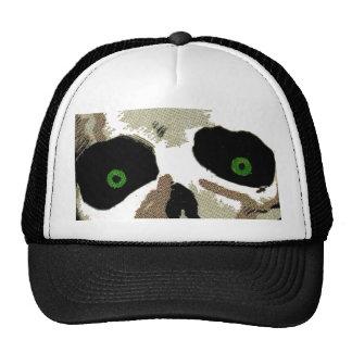 Big Creepy Zombie Skull Skeleton Eyes Watching Cap