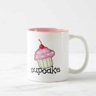 Big Cupcake Two-Tone Coffee Mug