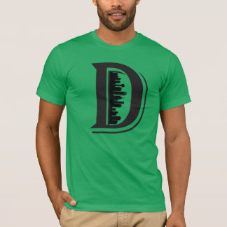 big D dallas skyline shirt