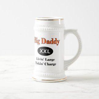 Big Daddy Livin Large Beer Stein