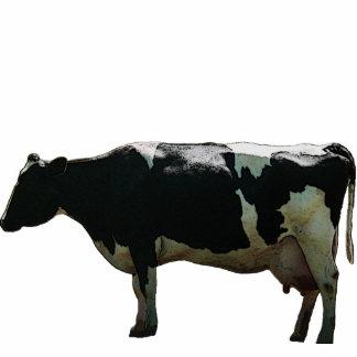 Big Dairy Cow Sculpture Standing Photo Sculpture