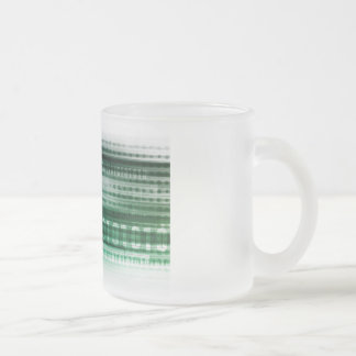 Big Data and Cloud Computing 10 Oz Frosted Glass Coffee Mug
