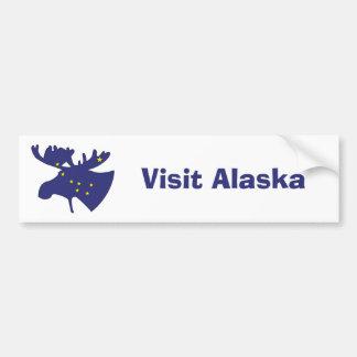 Big Dipper Moose Bumper Sticker