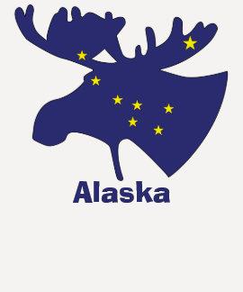 Big Dipper Moose Tee Shirt