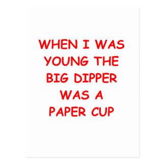 big dipper postcard