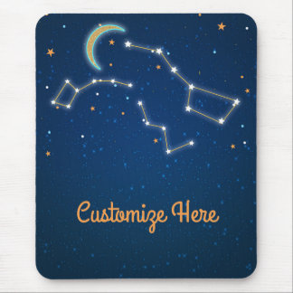 Big Dipper Star Gazing Constellation Celestial Mouse Mat