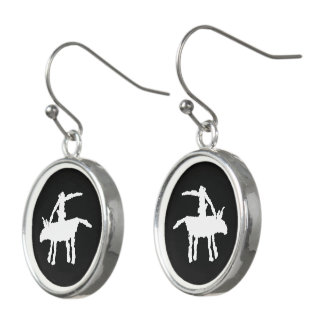 Big Dog,  Arroyo Segundo, Texas Earrings