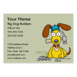 Big Dog Builders Business Cards