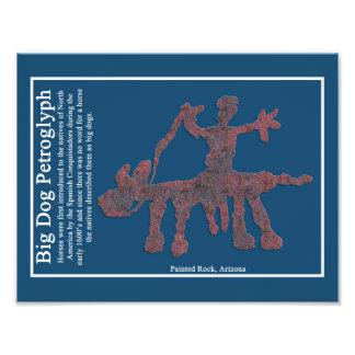 Big Dog Petroglyph Photographic Print