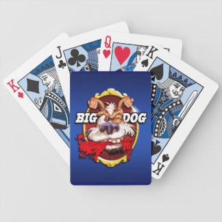Big Dog playing cards