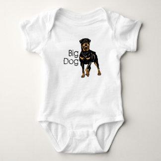 Big Dog, Squishy Dog Baby Bodysuit